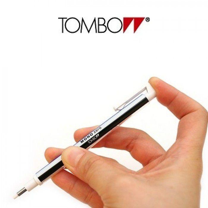 Caneta Borracha Tombow Mono Zero 2.3 mm Branca EH-KUR