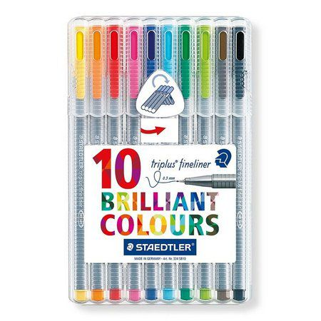 Caneta Fineliner Staedtler Brilliant Colours 0.3mm