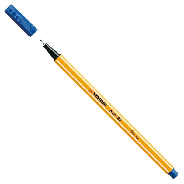 Caneta Hidrográfica Stabilo point 88/41 - Azul