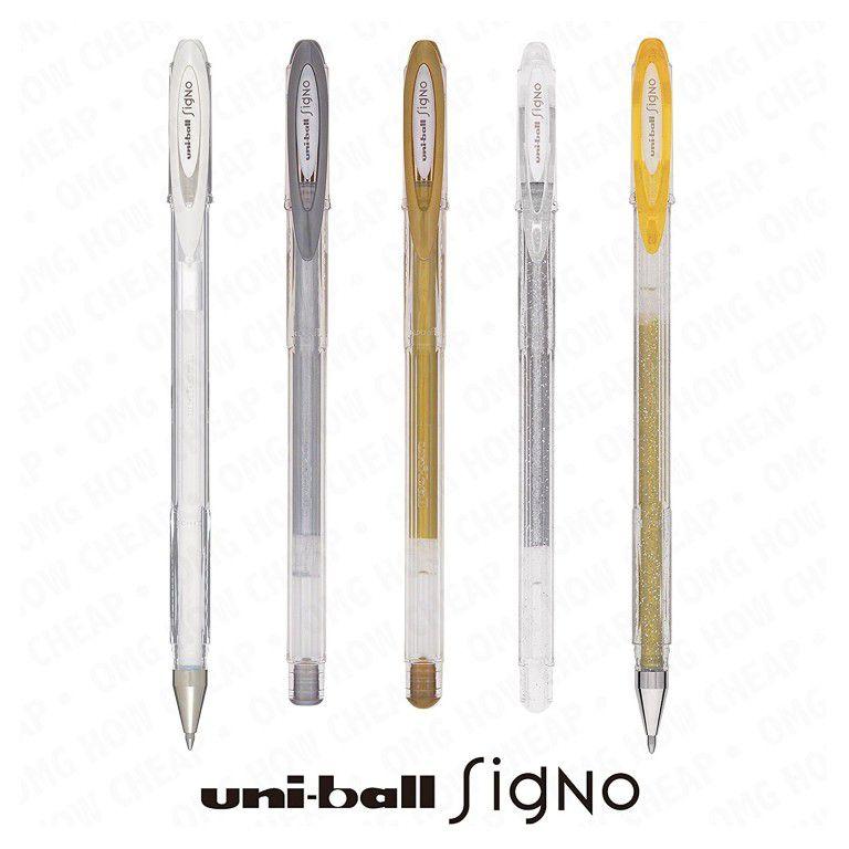 Caneta Uniball Signo Noble Metal UM-120NM - Prata