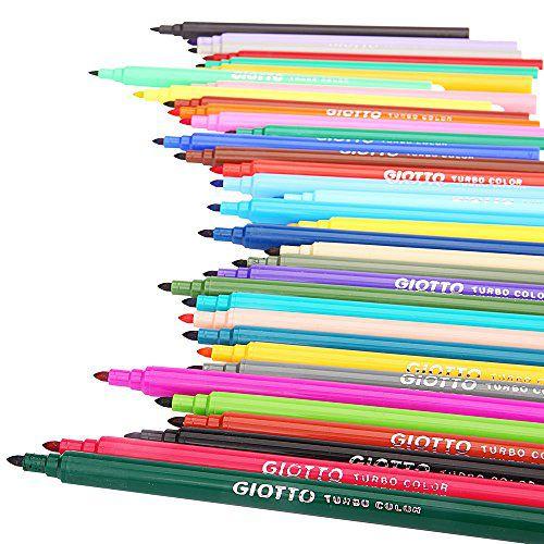 Canetinhas Hidrográficas Giotto Turbo Color 24 cores