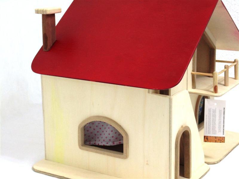Casa de Boneca com Móveis Bohney PA108
