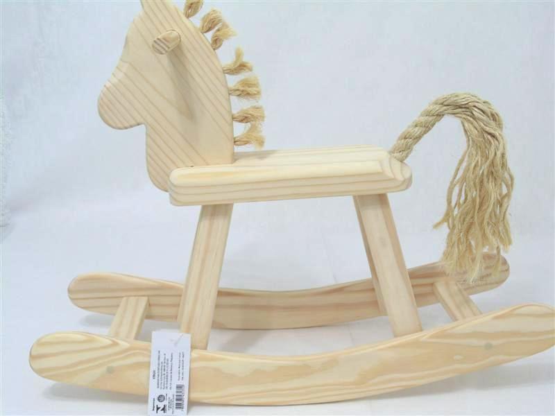 Cavalo de Balanço Pequeno Bohney PA131