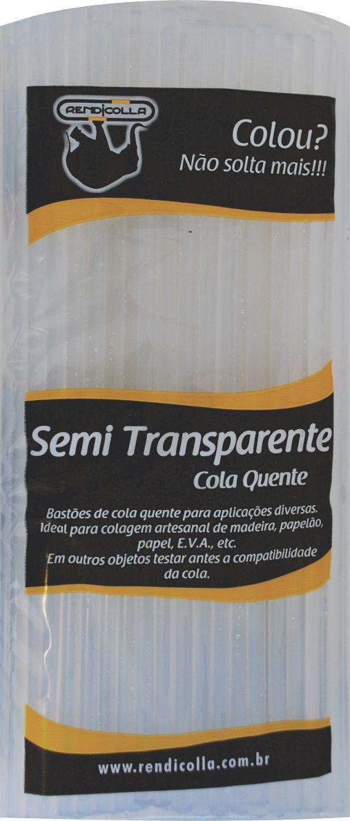 Cola quente Fina Semi Transparente Rendicolla 1kg