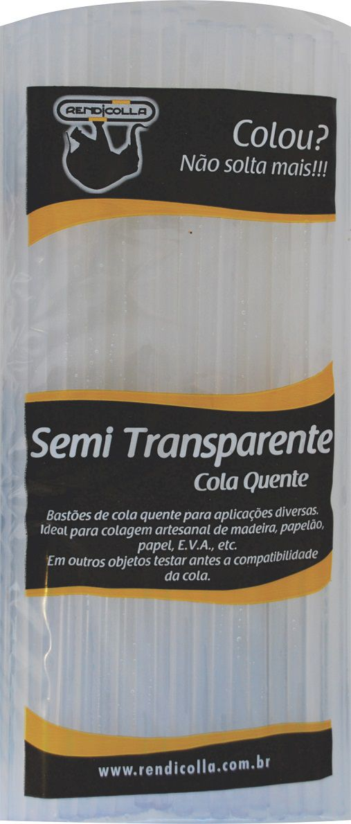 Cola quente Grossa Semi Transparente Rendicolla 1kg