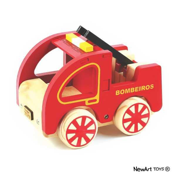 Coleção Carrinhos NewArt Toy's Bombeiros Ref. 353