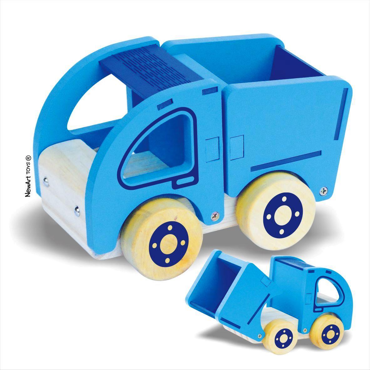 Coleção Carrinhos NewArt Toy's Caçamba Ref. 355