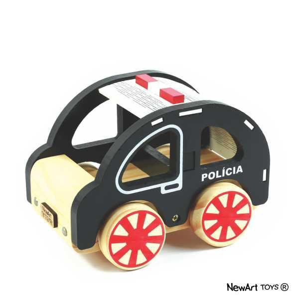 Coleção Carrinhos NewArt Toy's Polícia Ref. 354