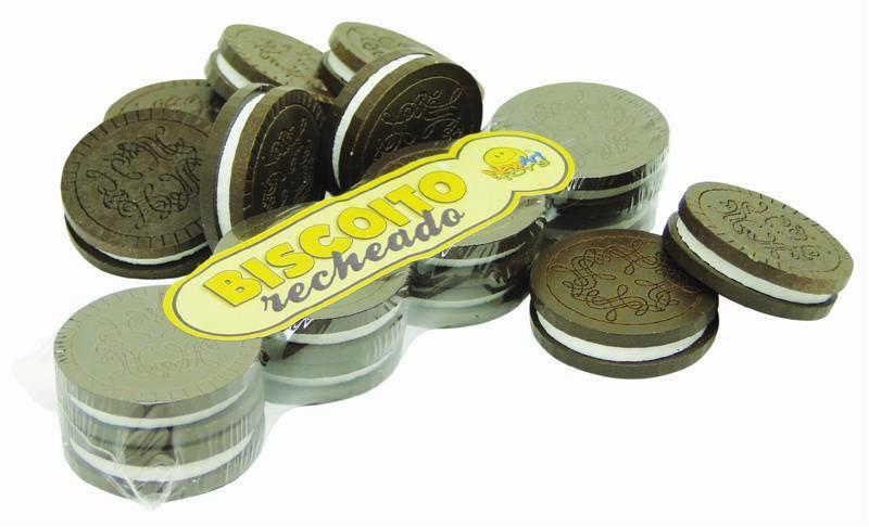 Coleção Comidinhas NewArt Toy's Biscoito Recheado Ref. 389