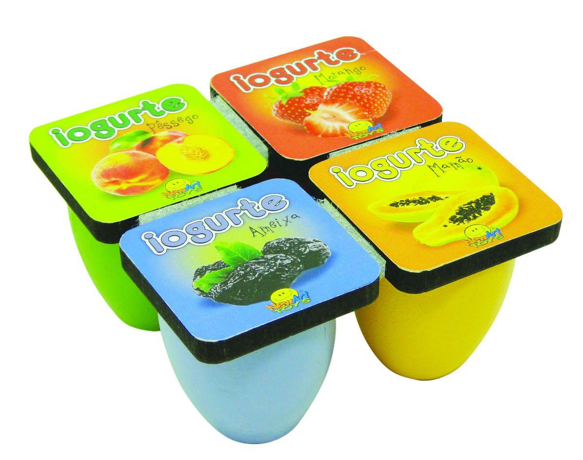 Coleção Comidinhas NewArt Toy's Iogurte Ref. 383