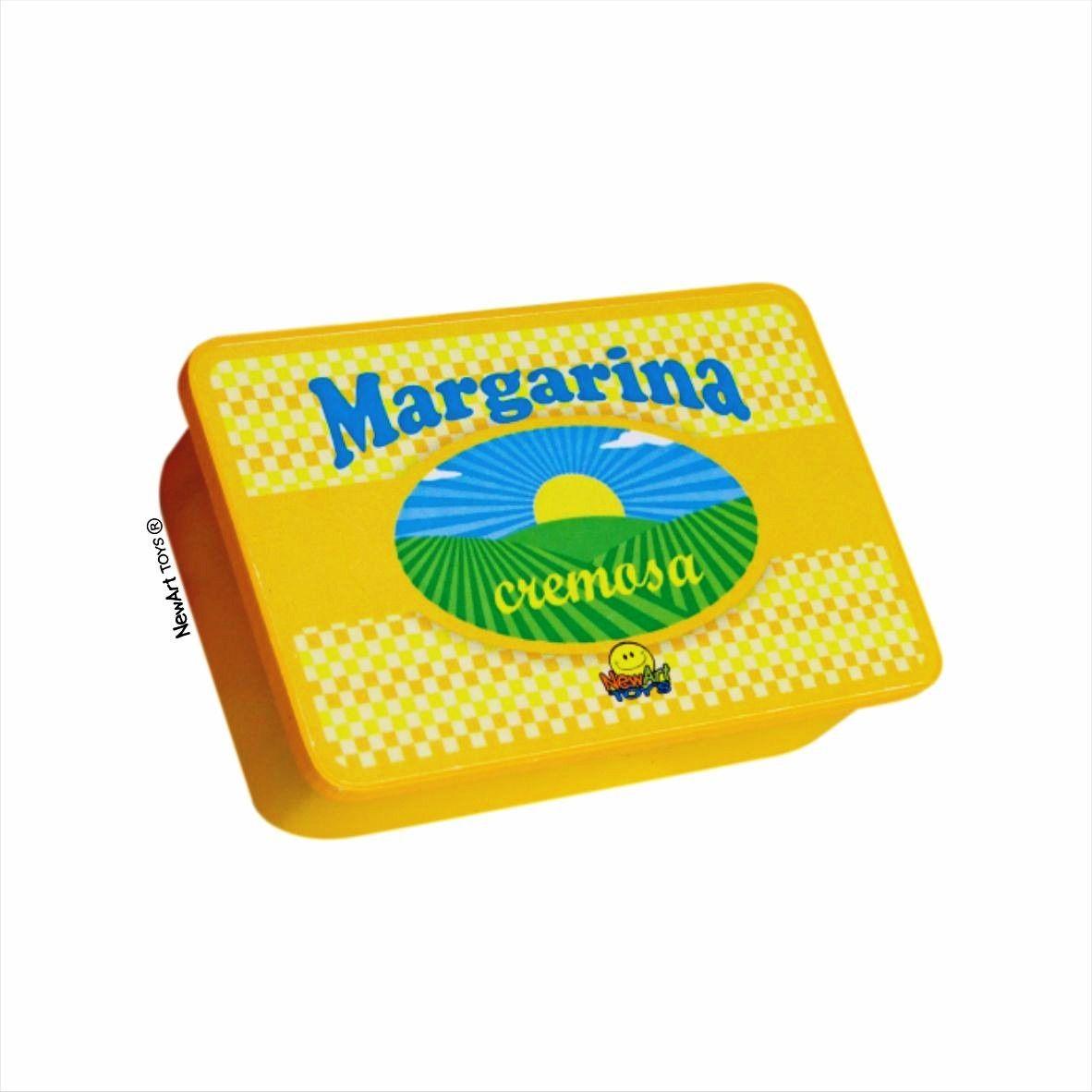 Coleção Comidinhas NewArt Toy's Margarina Ref. 411
