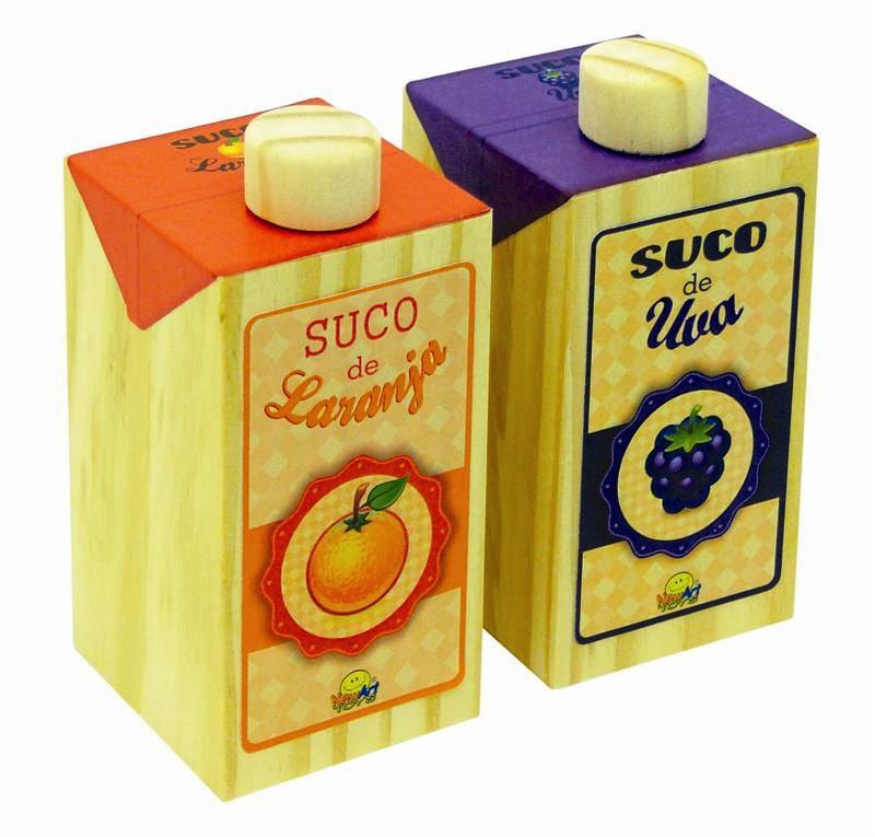 Coleção Comidinhas NewArt Toy's Sucos Ref. 400