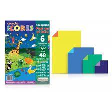 Coleção Eco Cores 6 Cores Viva A4 75g 48 Fls. NovaPrint