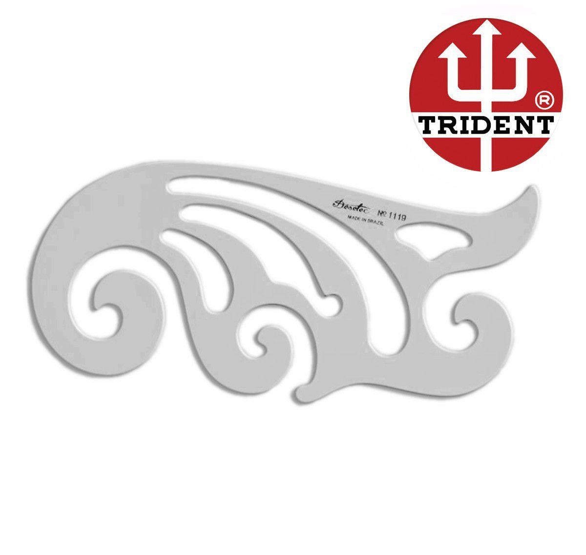 Curva Francesa Trident 1119
