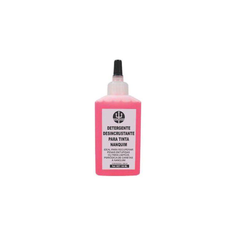Detergente p/ Tinta Nanquim Trident 100 ml - DET-100