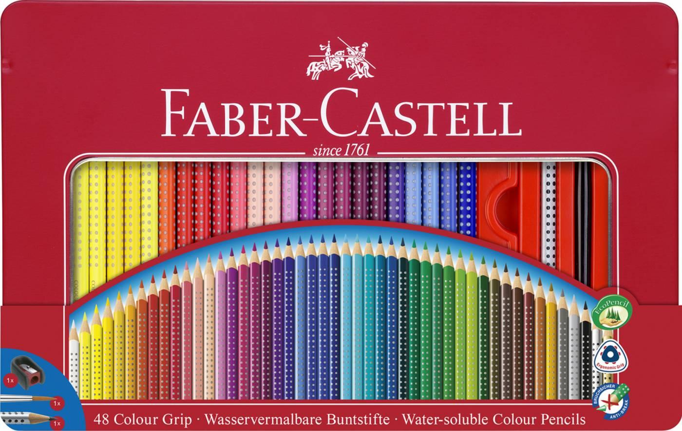 EcoLápis de Cor Grip 48 Cores Faber-Castell 121048LTN