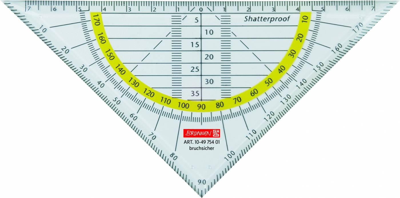 Esquadro de Geometria (Geometrie-Dreieck) Brunnen 10-4675401