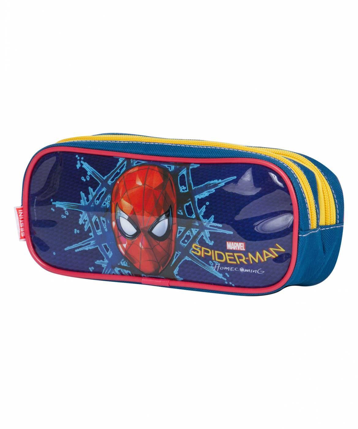 Estojo Duplo Sestini Spiderman 18X 065069-00