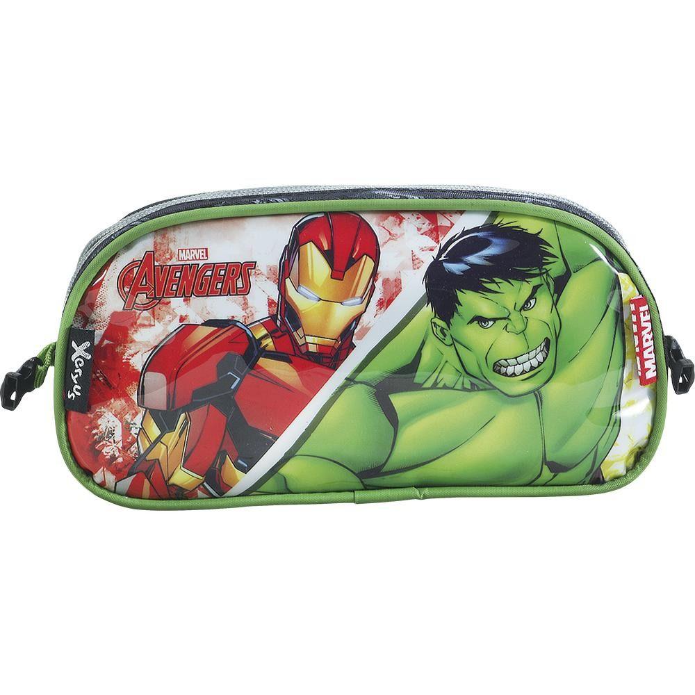 Estojo Duplo Xeryus Avengers 7085
