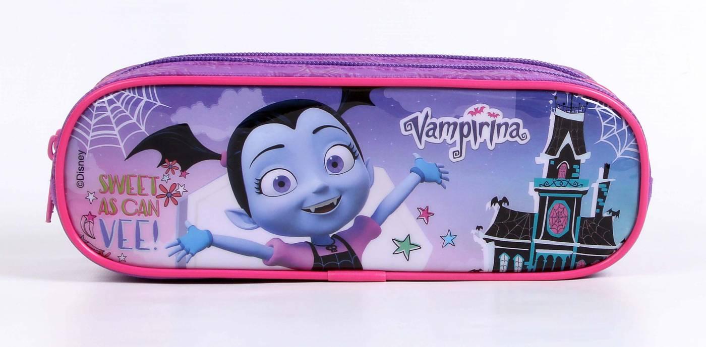 Estojo Escolar Duplo Dermiwil Vampirina 52200