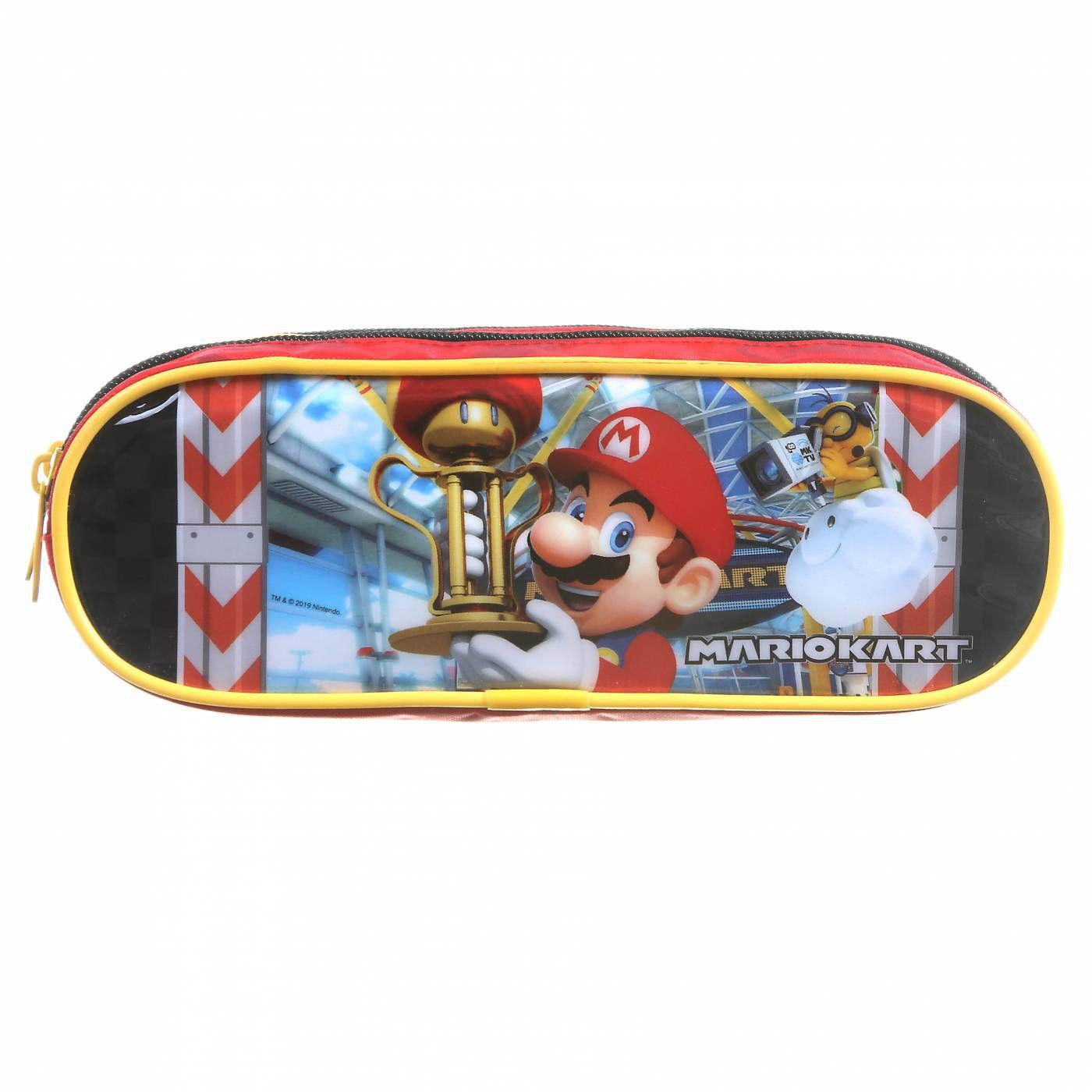 Estojo Escolar Duplo DMW Mario Kart 11722