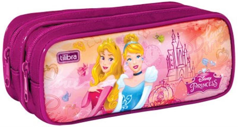Estojo Escolar Duplo Tilibra Princesas