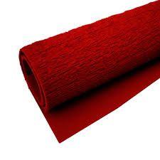 EVA Atoalhado 40x48 Vermelho Com 5 folhas Ref.4244