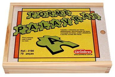 Forme Palavras Carimbras Ref.3190