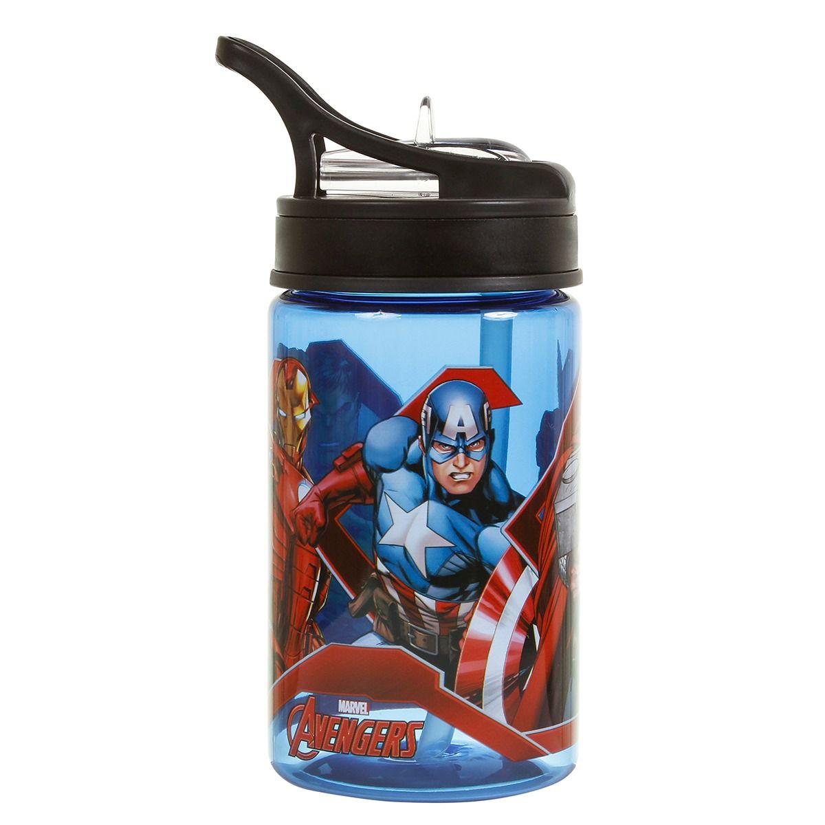 Garrafa Plástica  DMW 350ml Avengers Ref. 11604