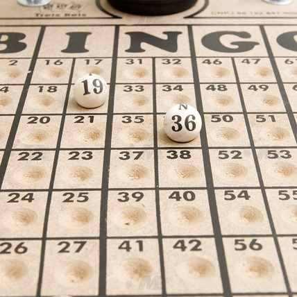 Globo De Bingo Treis Reis Pequeno