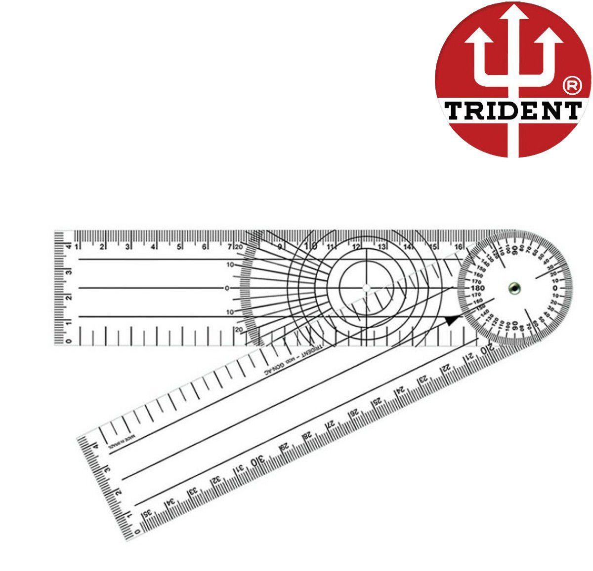 Goniômetro para Ortopedia Trident GON-PVC