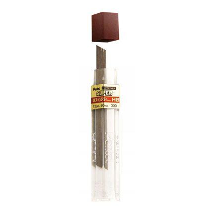 Grafite Pentel HI-POLYMER® 0,3 mm