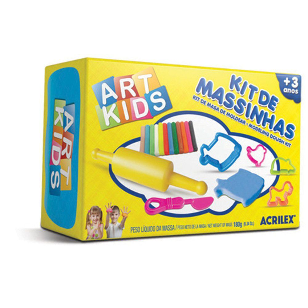 Kit de Massinhas Art Kids Acrilex 40002