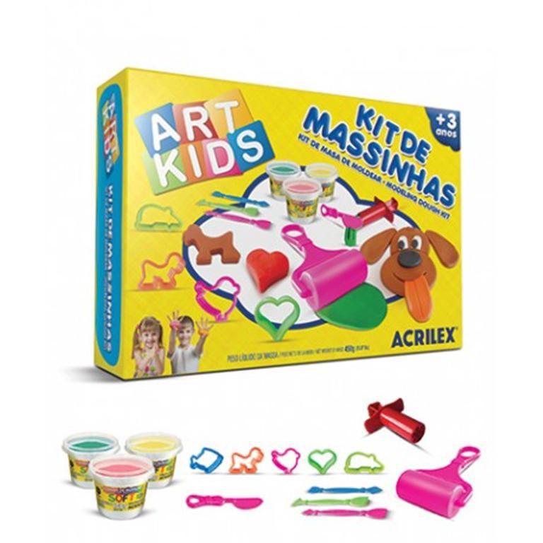 Kit de Massinhas Art Kids Acrilex 40004