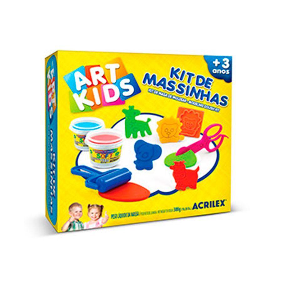 Kit de Massinhas Art Kids Acrilex 40007