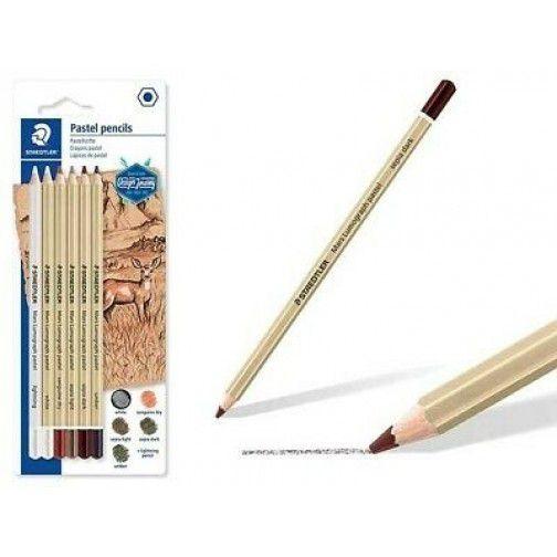 Kit Lápis Pastel Staedtler 100P-SBK6