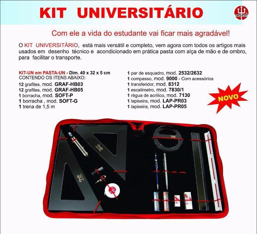 Kit Universitário Trident KIT-UN