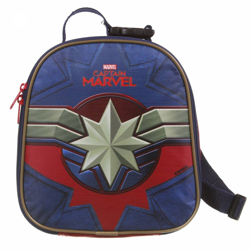 Lancheira Escolar Térmica DMW Captain Marvel 11643