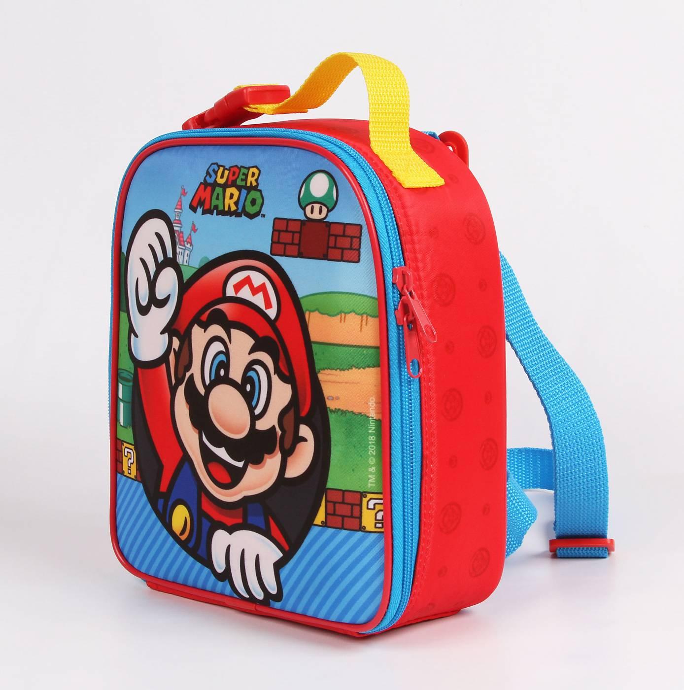 Lancheira Escolar Térmica DMW Super Mario Bros 111542