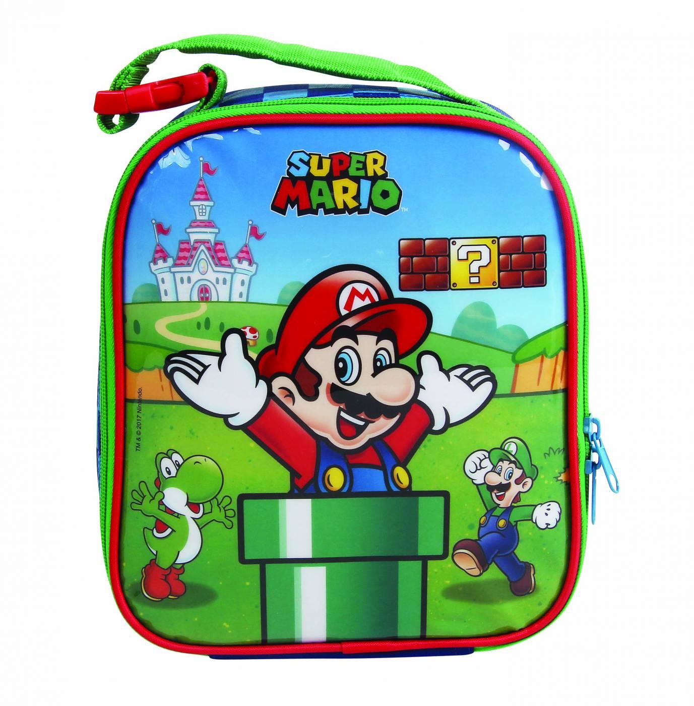 Lancheira Escolar Térmica DMW Super Mario Bros 11164