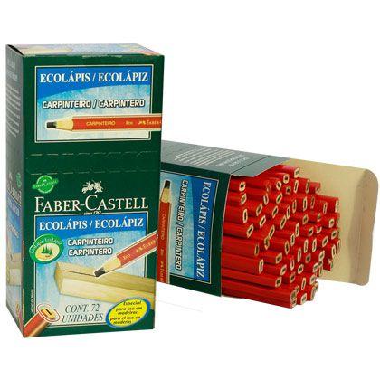 Lápis Carpinteiro Faber-Castell PM/2835