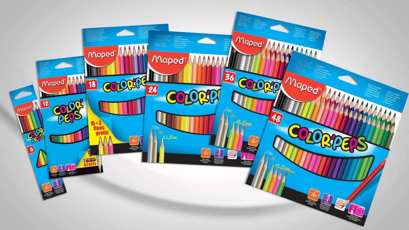 Lápis de cor 48 cores Maped Color Peps
