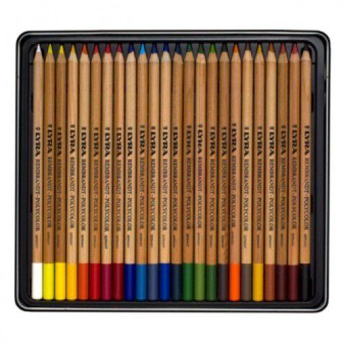 Lapis de cor Lyra Rembrandt Aquarell caixa c/24 cores