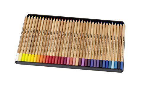 Lapis de cor Lyra Rembrandt Polycolor caixa c/36 cores