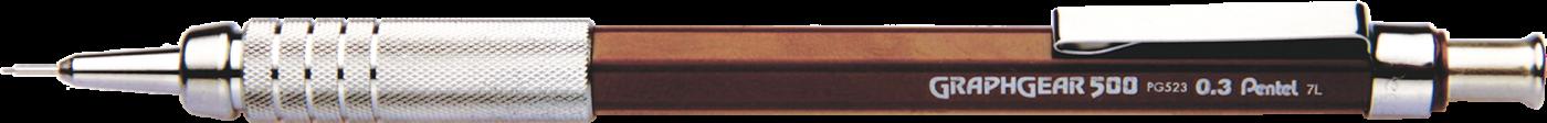 Lapiseira Pentel Graphgear 500 PG523 0.3 mm