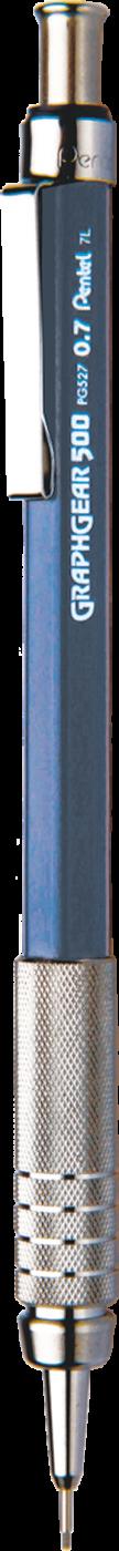 Lapiseira Pentel Graphgear 500 PG527 0.7 mm