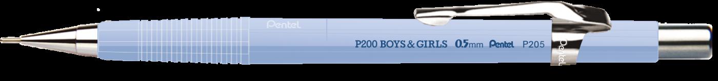 Lapiseira Pentel P205 0.5 mm - Cores Pasteis