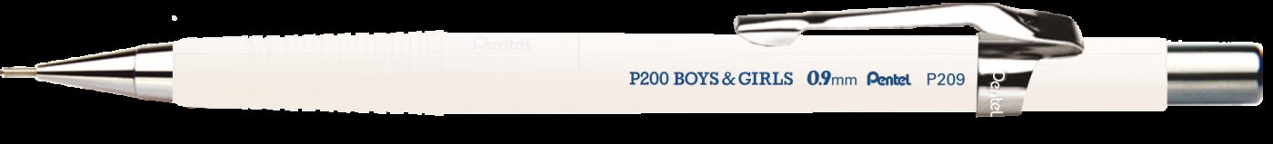 Lapiseira Pentel P209 0.9 mm Cores Pasteis.
