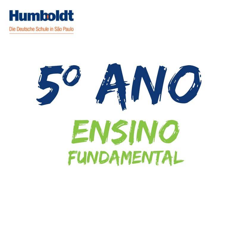 Lista do Quinto Ano Ensino Fundamental ACD / 5. Schuljahr