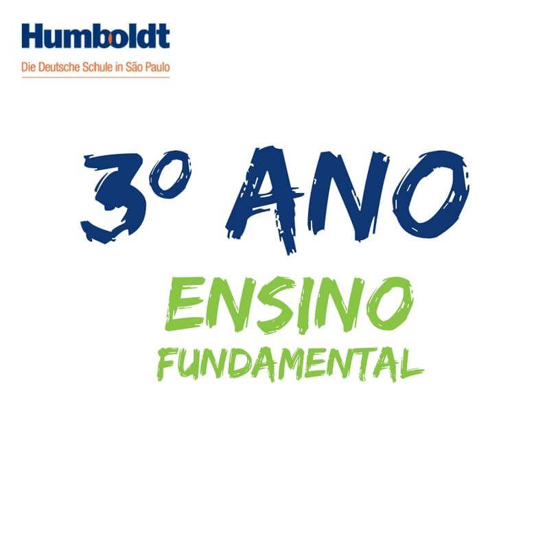 Lista do Terceiro Ano Ensino Fundamental / 3. Schuljahr